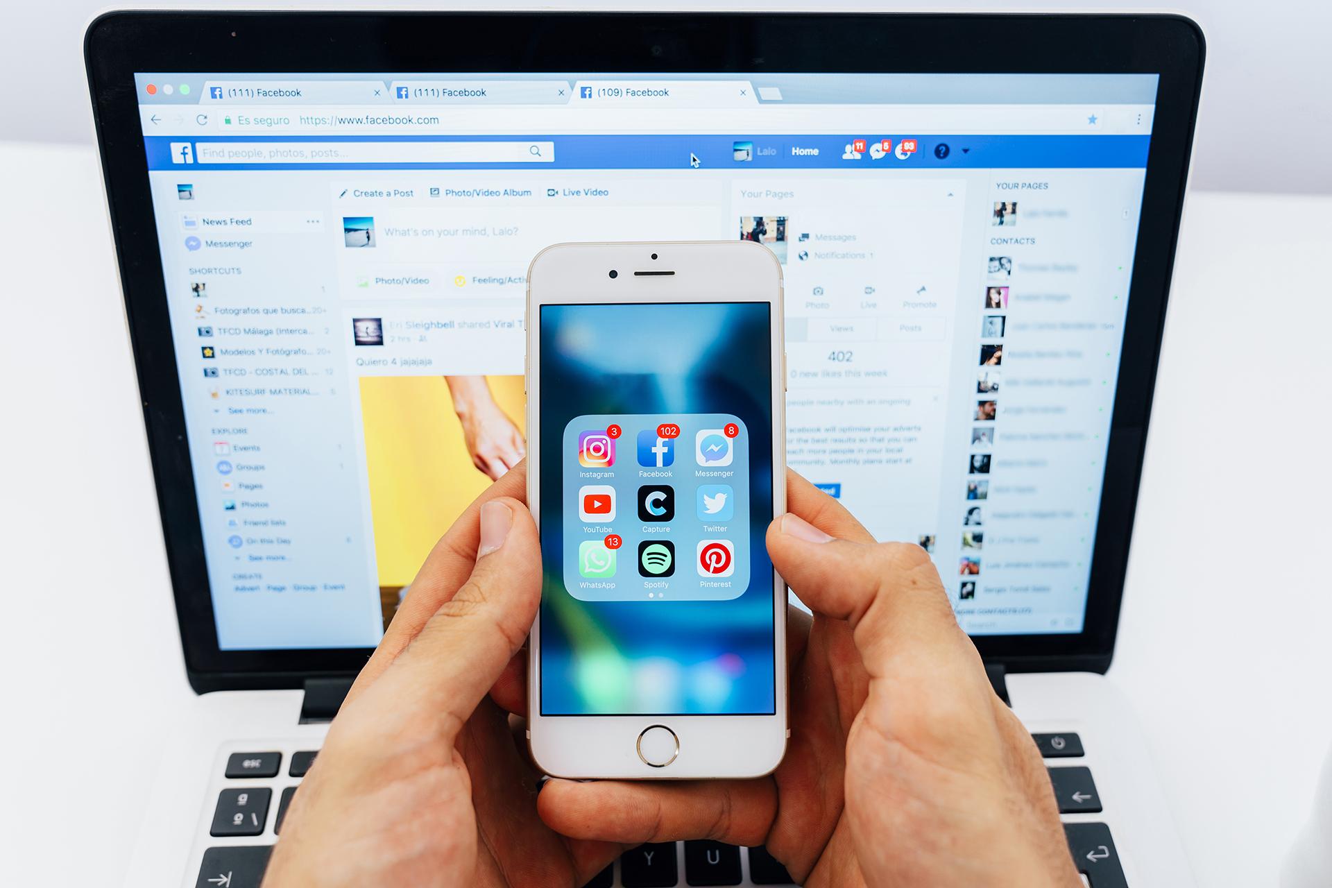 La cuarentena y el teletrabajo se toman las redes sociales