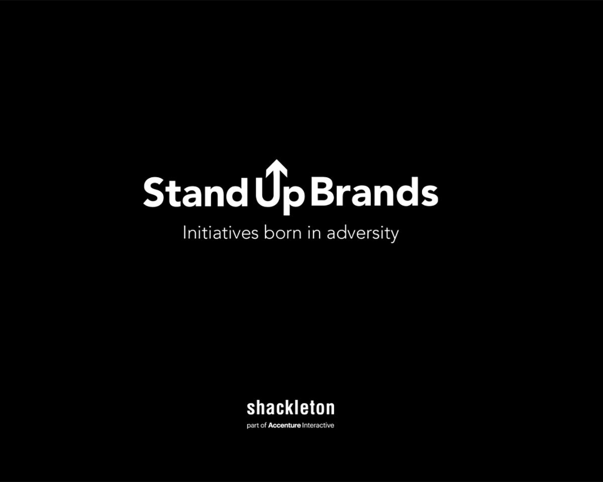 Stand Up Brands, informe de Shackleton sobre iniciativas nacidas en adversidad