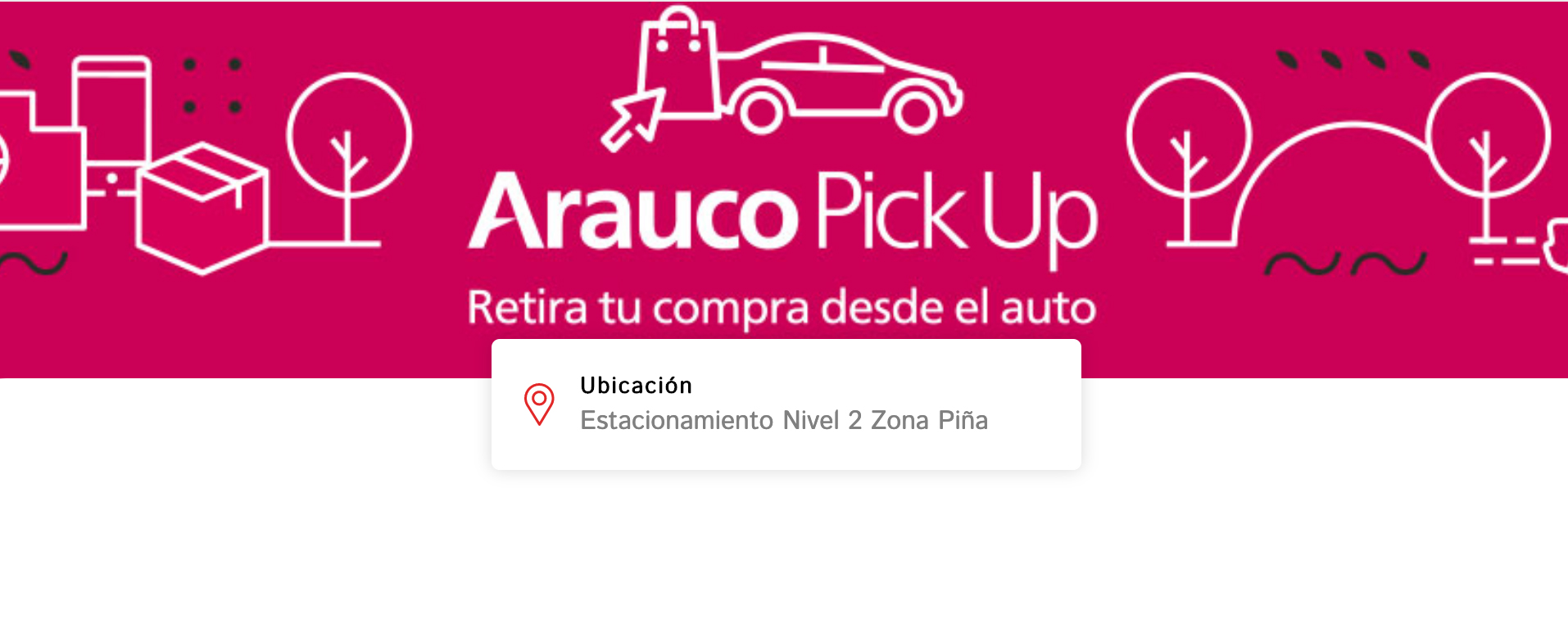 Parque Arauco_arauco pick up