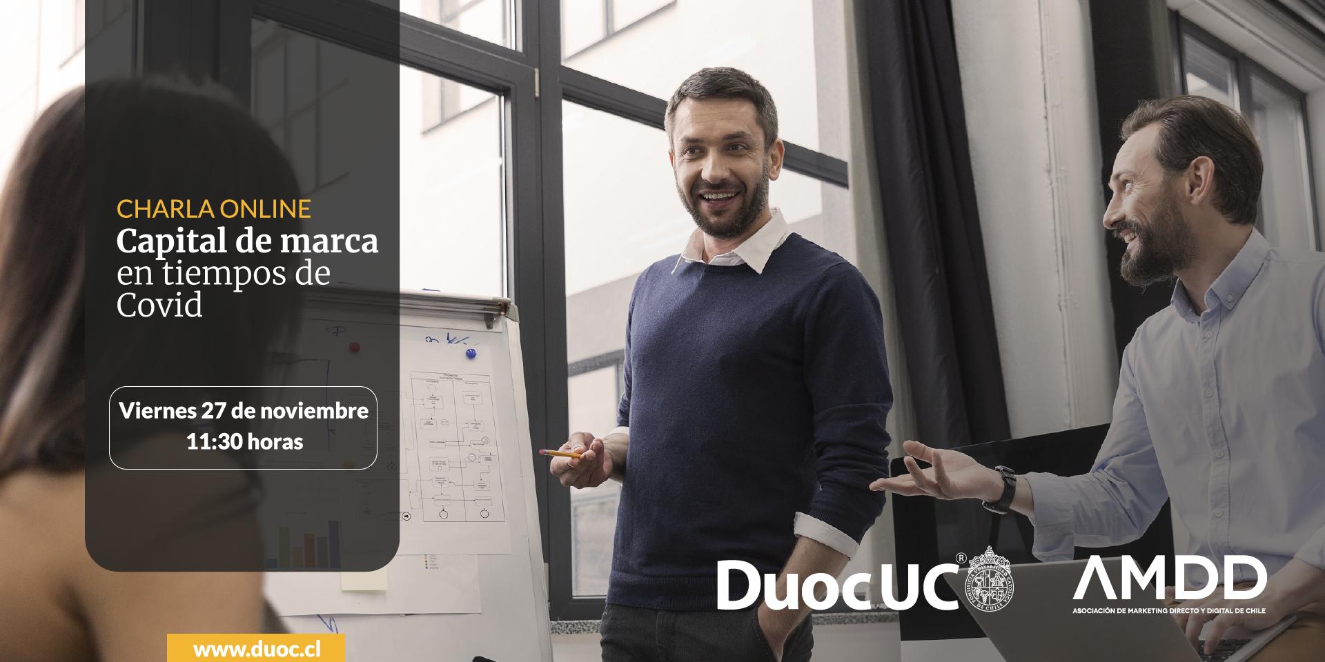Charla Duoc UC: Capital de marca en tiempos de Covid-19