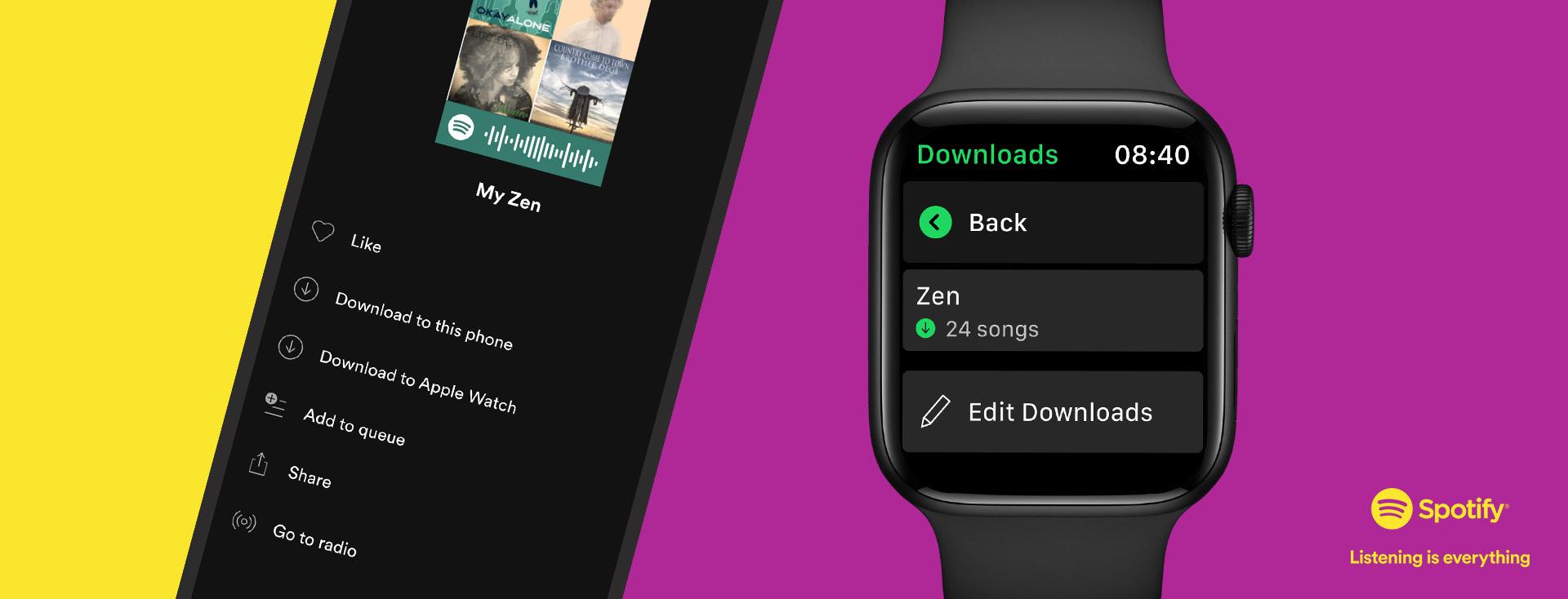 Cisneros Interactive_spotify apple watch