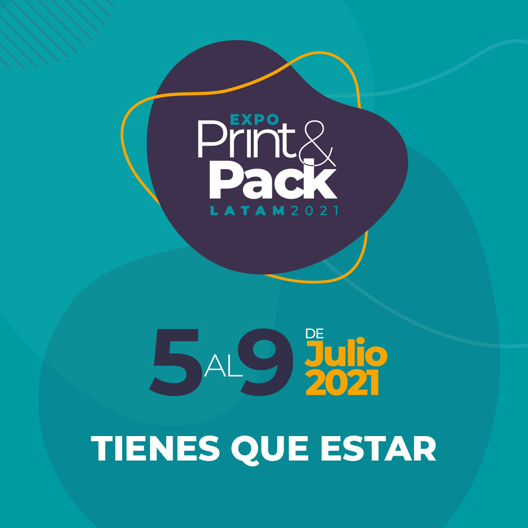 Expo Print & Pack Latam 2021: la primera feria virtual de la industria gráfica en Latinoamérica